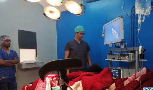 Première opération chirurgicale au laser des voies urinaires à l'hôpital Hassan II de Dakhla