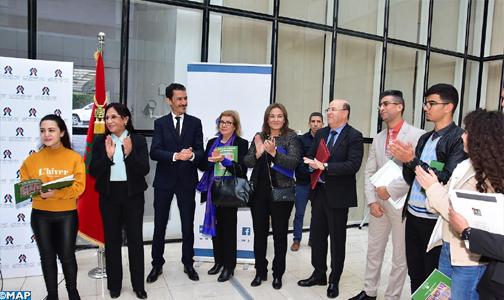 Le CNDH ouvre ses portes aux nouveaux membres du Conseil des élèves de Rabat-Salé-Kénitra