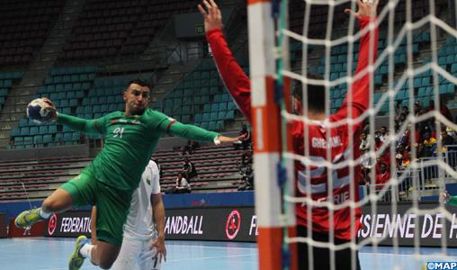 Hand-CAN 2020 (3e journée/Gr D): Le Maroc s'incline devant l'Algérie (30-33) à l'issue d'un derby nord-africain particulièrement disputé