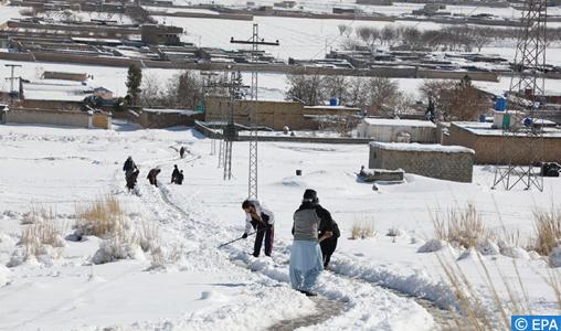 Intempéries hivernales: Plus de 110 morts au Pakistan et en Afghanistan