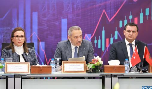 """Le Maroc et la Turquie conviennent de revoir les conditions de leur Accord de libre-échange pour un commerce """"plus équilibré"""""""