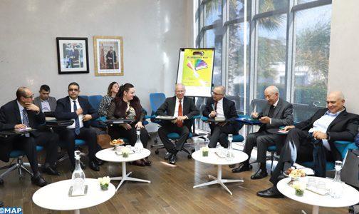 La CSMD poursuit ses séances d'écoute des institutions et des forces vives de la nation par une réunion avec les représentants de L'INPPLC