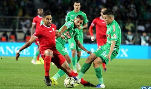 Botola Pro D1 (Mise à jour/12è journée): Le Raja de Casablanca et le Mouloudia d'Oujda dos à dos (1-1)