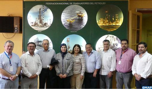 Santiago: la promotion de la coopération au centre d'entretiens entre responsables syndicaux marocains et chiliens