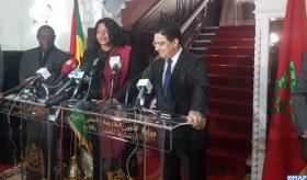 """L'ouverture d'un consulat général à Laâyoune, """"un moment inoubliable et historique"""" (ministre santoméenne des AE)"""
