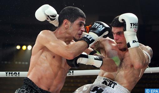Muay-thaï: Le champion du monde marocain Youssef Boughanem encadre une session d'entraînement le 19 janvier à Casablanca