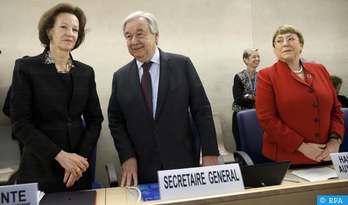Ouverture de la 43ème session du Conseil des droits de l'Homme à Genève avec la participation du Maroc