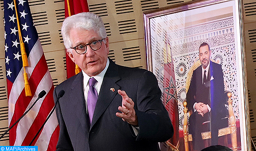 """Le Maroc, """"le plus ancien allié des États-Unis"""" et """"je suis honoré d'y avoir ma résidence"""" en tant qu'ambassadeur de mon pays"""