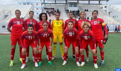 Tournoi féminin UNAF (2è journée): victoire du Maroc face à la Tanzanie (3-2)