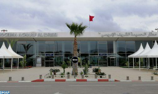 Al Hoceima: Plus de 5.000 voyageurs ont transité par l'aéroport Charif Al Idrissi en janvier