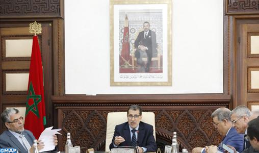 Le Conseil du gouvernement adopte un projet de décret complétant le décret portant statut général des établissements de formation professionnelle