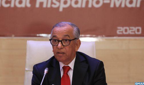 M. Farès souligne l'importance de promouvoir la coopération et l'action commune entre les Institutions judiciaires marocaines et espagnoles