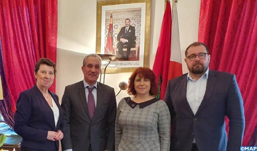 Création du groupe d'amitié parlementaire polono-marocain au Sénat