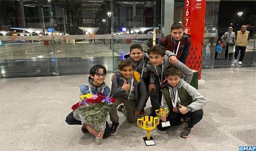 """Next Kids (Tanger) remporte la compétition nationale de robotique """"First Lego League"""""""