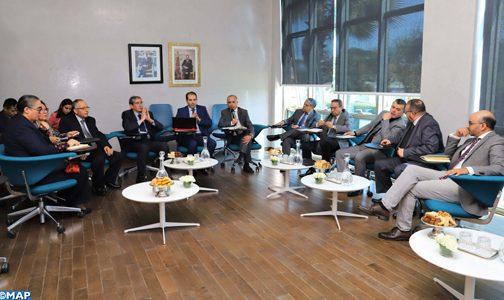 CSMD: Séance d'écoute avec les représentants de l'Institution du Médiateur