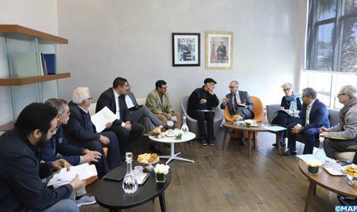 CSMD: Séance d'écoute avec les représentants de la Coalition marocaine des instances des droits de l'Homme