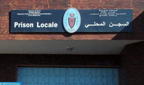 Fès: l'administration de la Prison locale Bourkaiz dément les fausses informations sur un détenu soupçonné d'être infecté par le Covid-19