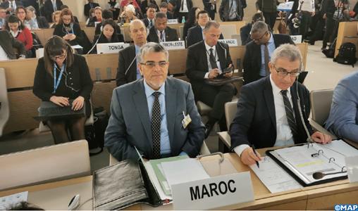 M. Ramid expose à Genève les avancées accomplies par le Maroc dans le domaine des droits de l'homme