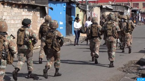 Afrique du Sud : De Sandton à Alexandra, le confinement à un autre goût