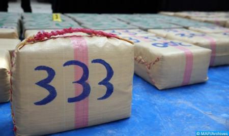 Guergarate: mise en échec d'une tentative de trafic de 854 kilogrammes de chira (DGSN)