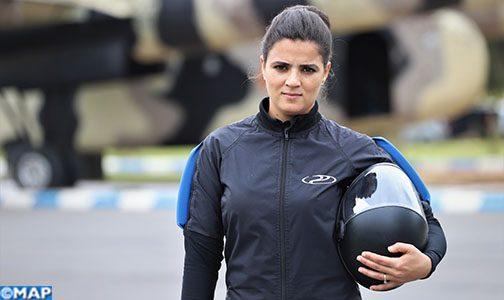Malika Lahmar ou la passion débordante d'une parachutiste