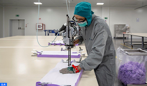 Covid-19 : Lamatem fournira l'Etat en produits textiles médicaux