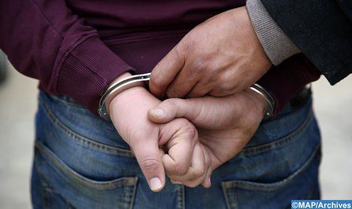 Coronavirus: arrestation El Jadida d'un individu soupçonné d'ivresse publique, menace et de diffusion d'une vidéo contenant des données erronées