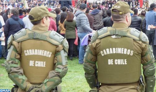 Chili: interpellation de 339 personnes pour violation du couvre-feu (Police)