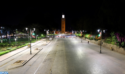 """Covid-19 : Marrakech se met pas à pas en mode """"confinement"""""""