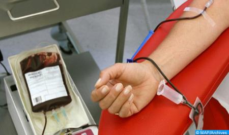 Errachidia : forte mobilisation pour le don de sang