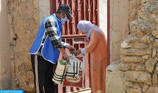 Covid-19 : La société civile d'Al Haouz prête main forte aux familles nécessiteuses