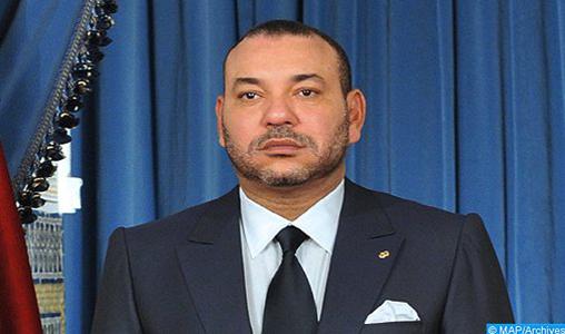 SM le Roi adresse un message de condoléances au Président pakistanais suite au crash d'un avion à Karachi