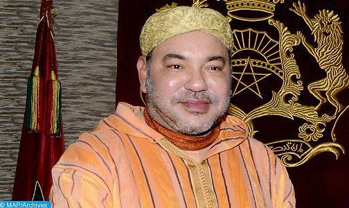 Message de félicitations à SM le Roi du Serviteur des lieux saints à l'occasion de l'Aïd Al-Fitr