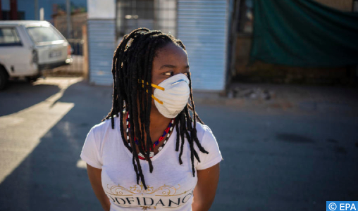 Covid-19 : 988 nouveaux cas confirmés en Afrique du Sud, 20.125 au total