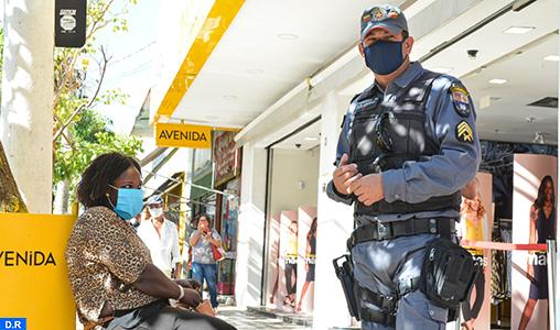 Coronavirus: Le Brésil frôle les 400.000 cas, 24.512 décès et 208.117 guérisons