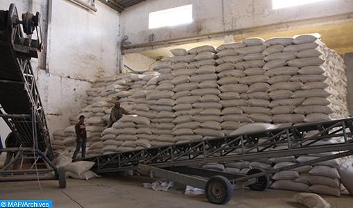 Distribution de 693.825 quintaux d'orge subventionnée aux éleveurs de Béni Mellal-Khénifra