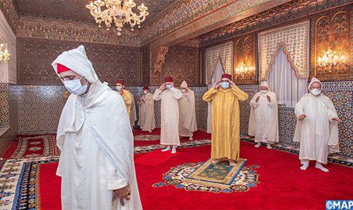 SM le Roi, Amir Al-Mouminine, commémore Laylat Al-Qadr bénie