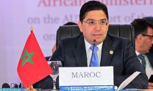 Covid 19: la riposte du Maroc est guidée par une Vision Royale reposant sur l'anticipation, la proactivité et la primauté de la santé des citoyens (Bourita)