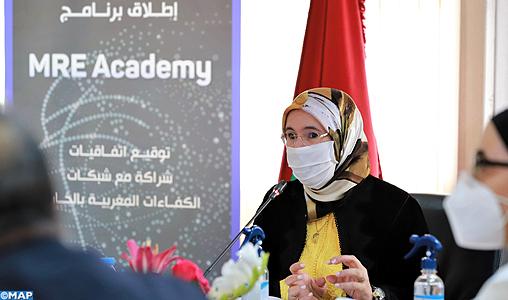 La mobilisation des compétences des Marocains du monde est une base fondamentale au développement (Mme El Ouafi)