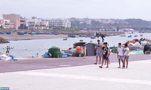 La corniche de Rabat et la marina de Salé rayonnent à nouveau après plus de trois mois de confinement