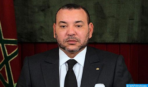 SM le Roi Mohammed VI adresse un message de condoléances au président de la République de Côte d'Ivoire