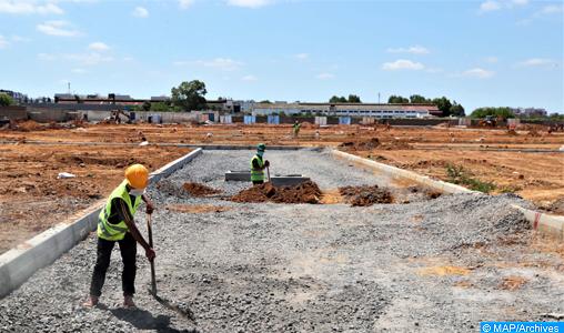 Les chantiers de la voie express Tiznit-Laâyoune avancent à un rythme soutenu dans la région Guelmim-Oued Noun