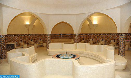 Casablanca: les hammams de la mosquée Hassan II rouvrent leurs portes