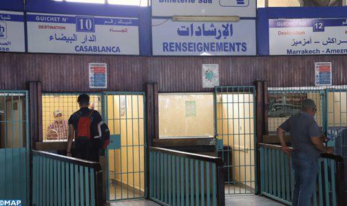 Reprise d'activité à la gare routière Kamra de Rabat: Entre afflux de voyageurs et absence d'autocars