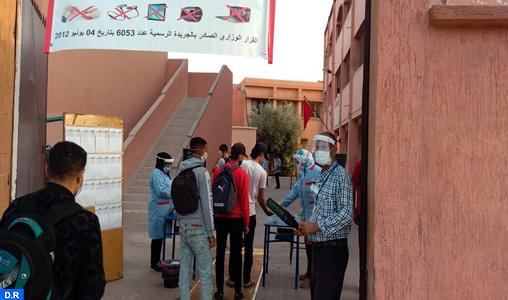 Marrakech-Safi : Démarrage des examens du baccalauréat