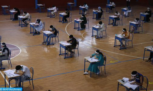 Oriental : Les épreuves du bac se déroulent dans des conditions normales empreintes de l'esprit de responsabilité (AREF)