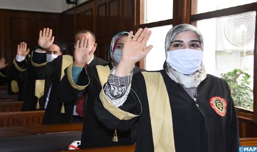 Tétouan: les nouveaux adouls prêtent serment devant la Cour d'Appel