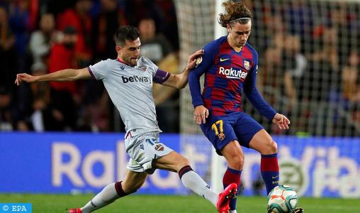 Championnat d'Espagne : Blessé au quadriceps droit, Griezmann indisponible un mois
