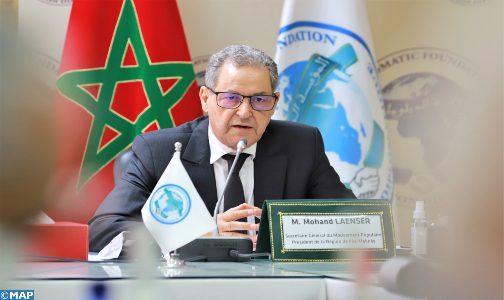 Le Maroc post-Covid: L'implication des régions est indispensable, selon M. Laenser