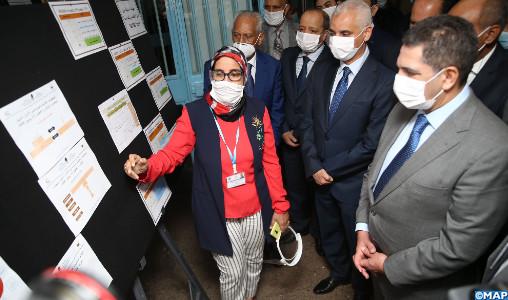 Baccalauréat: M. Amzazi visite des centres d'examen de Casablanca-Settat